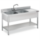 industrial sinks