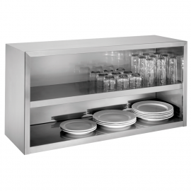 Armoire inox ouvert
