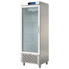 exhibiting fridge