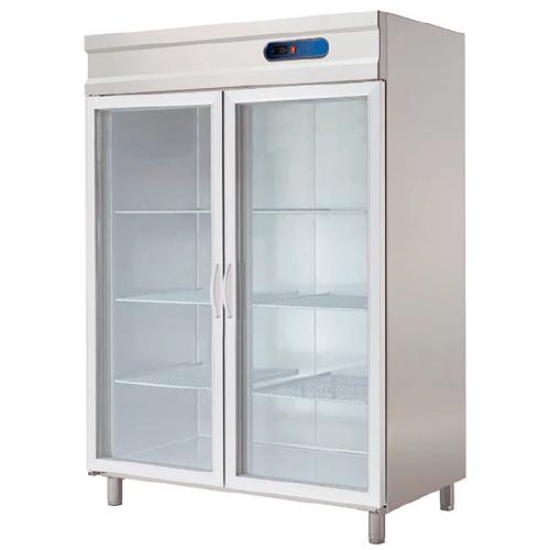 Armoire réfrigérée GN 2/1 2 portes vitrées