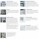 acier inoxydable congélateur vertical