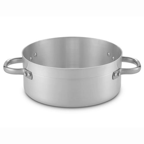 Low aluminum saucepan
