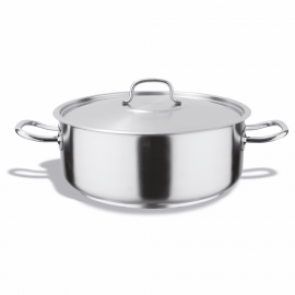 Lidded stainless steel sauces