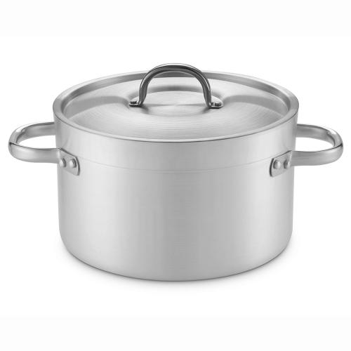 haute casseroles en aluminium