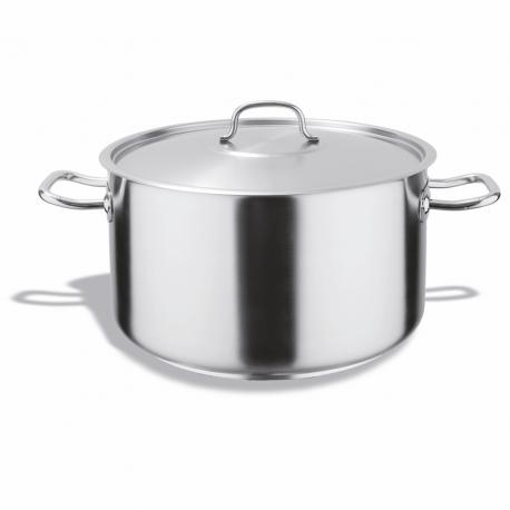 haute casseroles en acier inoxydable