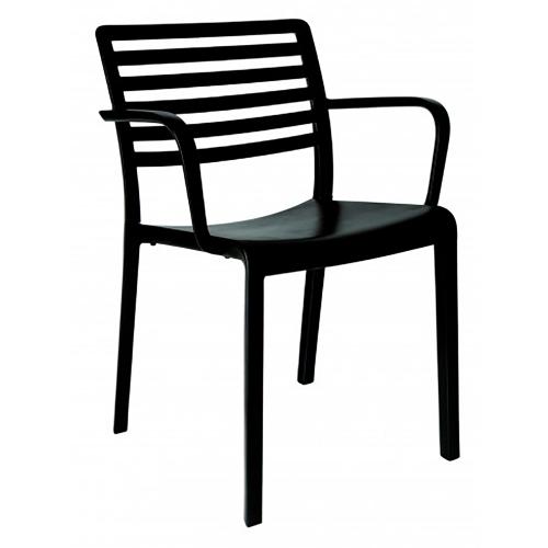 chaise avec bras de Lama