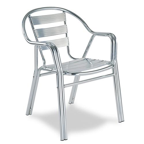 Chaise Edge en aluminium