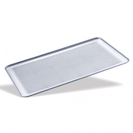 Bandeja aluminio perforada 60x40