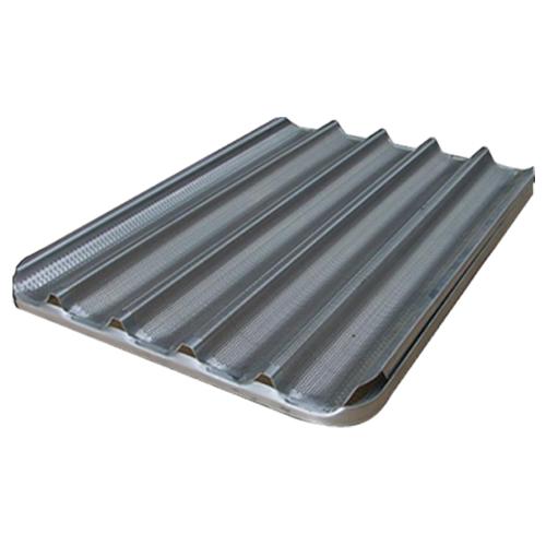 Corrugated aluminum tray 60x40