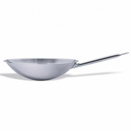 Round-bottomed wok