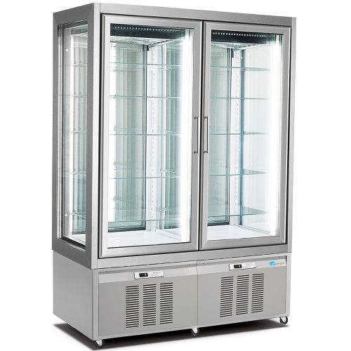 refrigerated display cabinet double