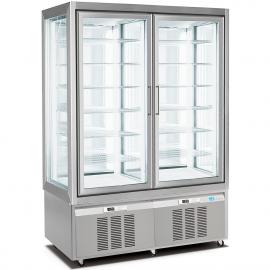 double freezer display cabinet