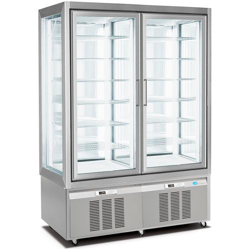 Armario expositor congelador doble pastelería