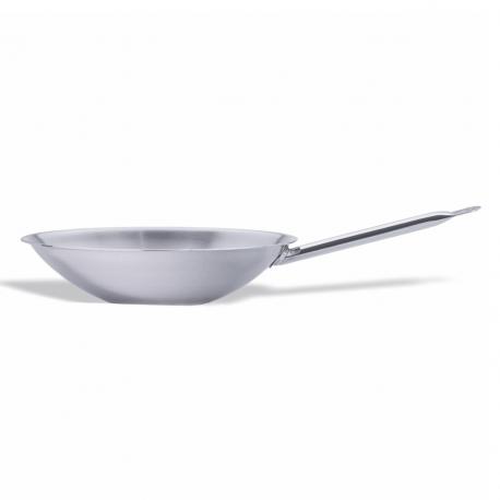 Flat-bottomed wok