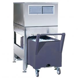 Bac de stockage pour machines à glaçons avec chariot BC240