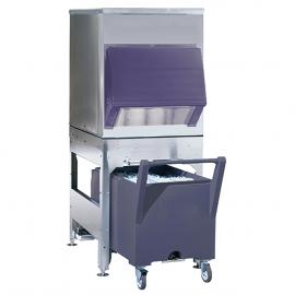 Bac de stockage pour machines à glaçons avec chariot BC340