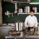 Paella valenciana en acer polit