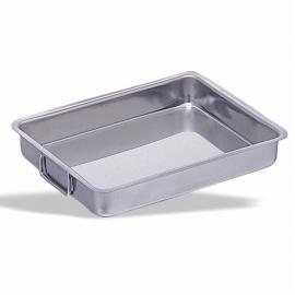 Stainless steel Roasting pan mobile handles