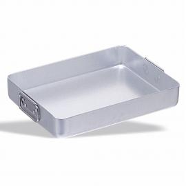 Roasting pan mobile aluminum handles