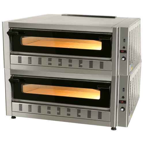 Gas pizza oven 8p