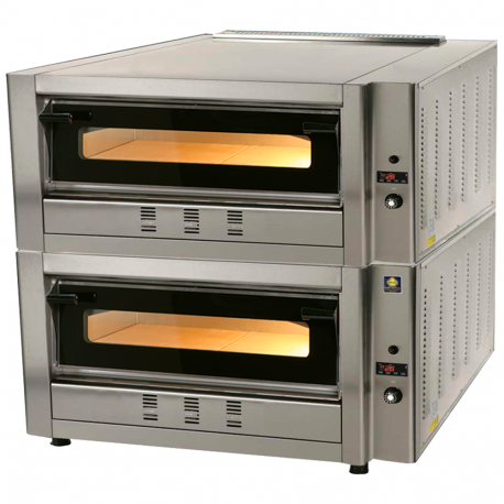 Gas oven pizzas 12p