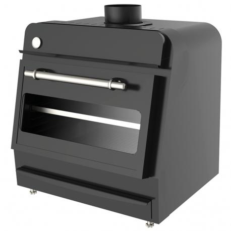 Black coal oven 70