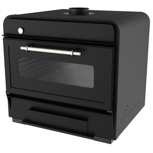 Charcoal oven 100 Black