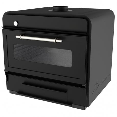 100 Black coal oven