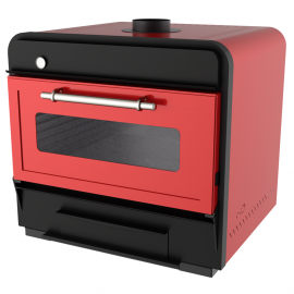 Charcoal oven 100 Red