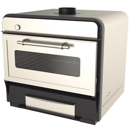 Charcoal oven 100 Inox