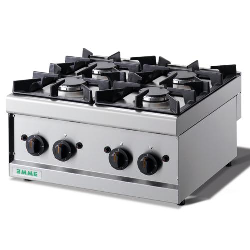 Cocina sobremesa 4 fuegos