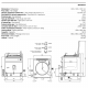 Marmite gaz indirect 150 L