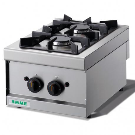 Cocina Sobremesa 2 Fuegos - Cocinas Industriales - Cocina ...