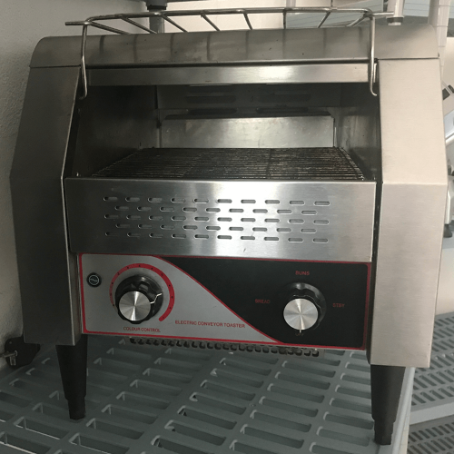 Electric toaster second hand tape