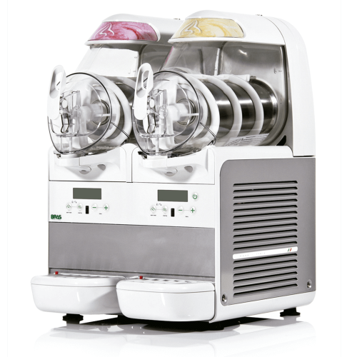 Máquina helado soft exposición