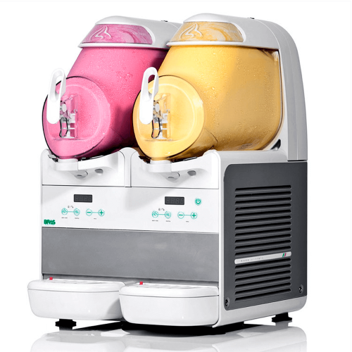 douce exposition à la machine à crème glacée