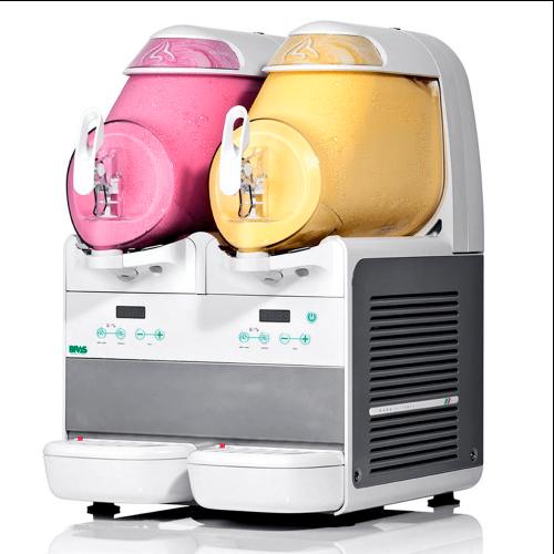 Màquina gelat soft exposició