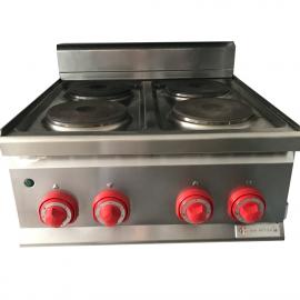 Cuisinière électrique BERTOS 4 brûleurs d'occasion