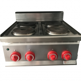 Electric kitchen BERTOS 4 burners resale