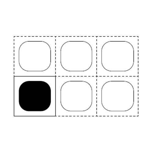 Cuve en polycarbonate GN1 / 6