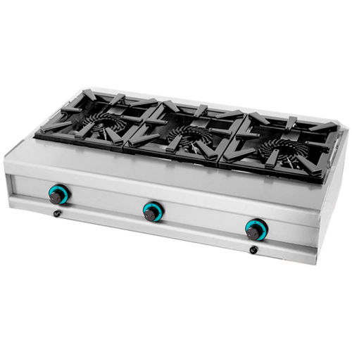 Gas cooker 3 burners