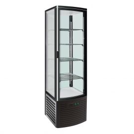 Vertical refrigerated display expo