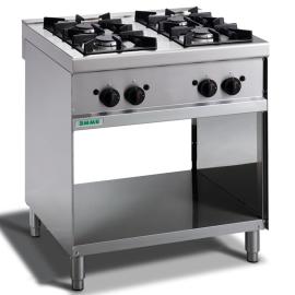Cocinas 4 fuegos gas