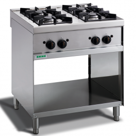 Kitchen 4 gas burners