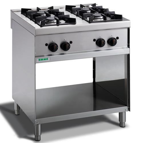Cuisinière à gaz 4 brûleurs