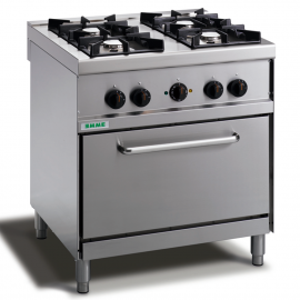 Cooker 4 burners with electric oven
