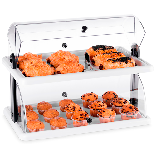 Double plastic cabinet