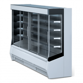 Refrigerated wall cabinets