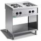 Cocina 4 fuegos eléctrica