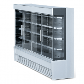 refrigerated showcase multideck
